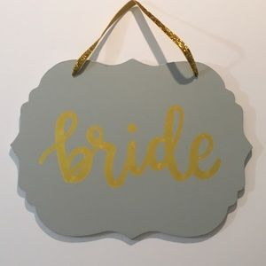 """Bride"" Wall Decor"